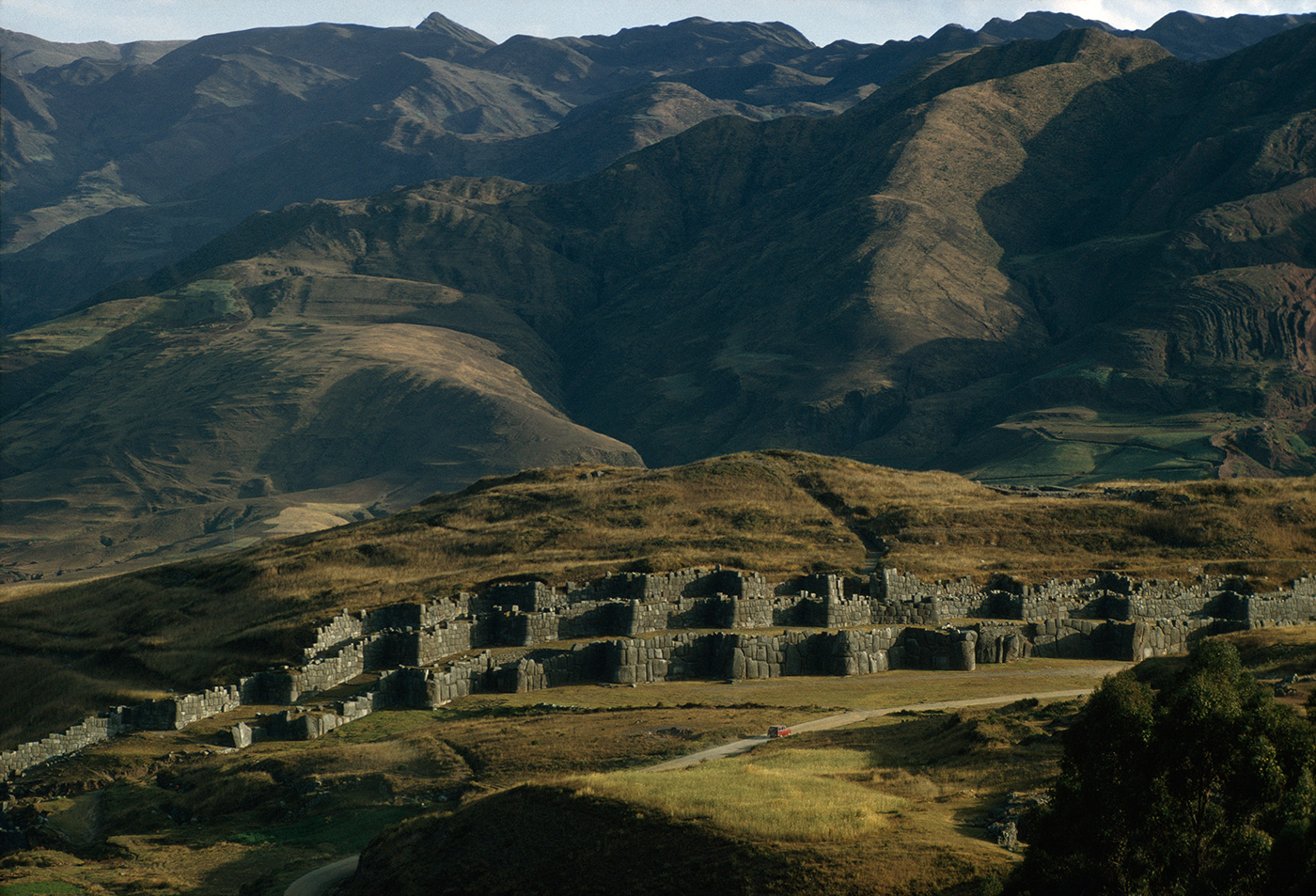 Sacsahuaman Fortress, near Cuzco, Peru.